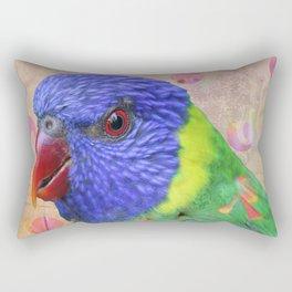 Parrot #2 Rectangular Pillow