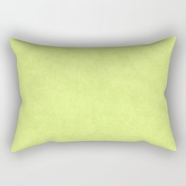 Speckled Texture - Pastel Lime Yellow Green Rectangular Pillow