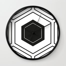 HEXBYN3 Wall Clock