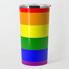 LGBT Gay Pride Flag Travel Mug