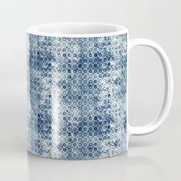 Grungy Teal Circles Coffee Mug