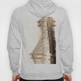 Albert Bridge London Digital Art Hoody