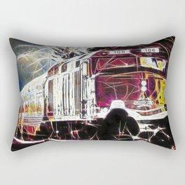 Agawa Canyon Snow Train Rectangular Pillow