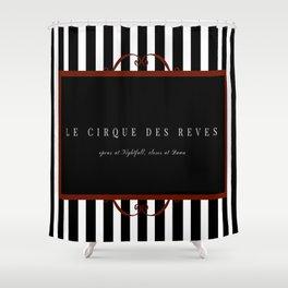 Night Circus Invitation Shower Curtain