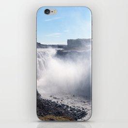 Dettifoss Waterfall in Iceland iPhone Skin