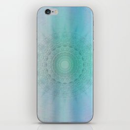 Mandala sensual light iPhone Skin