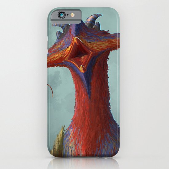 Beak portrait iPhone & iPod Case