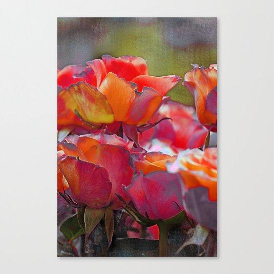 Romantic roses(9). Canvas Print