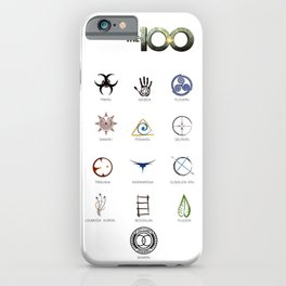 The 100 - 13 Clans iPhone Case
