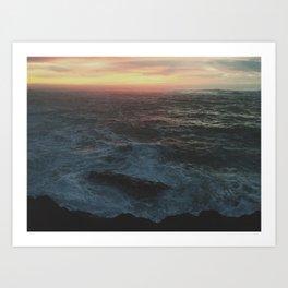 Ocean Color Art Print