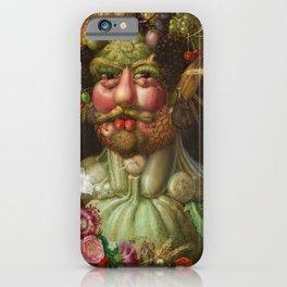 Rudolf II of Habsburg as Vertumnus iPhone Case