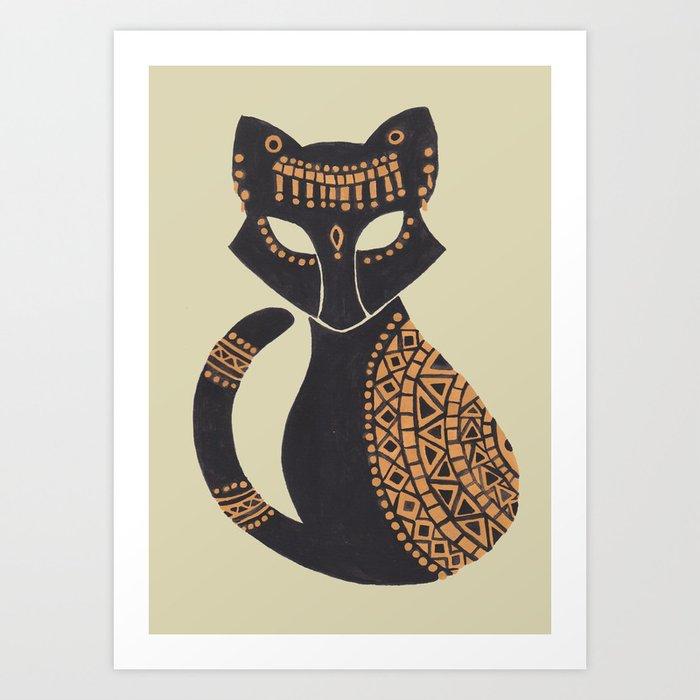The Egyptian Cat Art Print