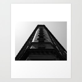 Look up New York 10 Art Print
