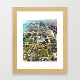 Scenes from the 73rd Framed Art Print