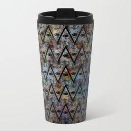 All Seeing Pattern Travel Mug