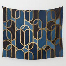 Art Deco Graphic No. 166 Wall Tapestry