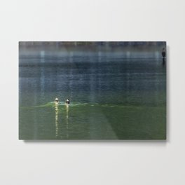 The Leisurely Getaway Metal Print