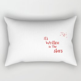 It's Written In The Stars Rectangular Pillow