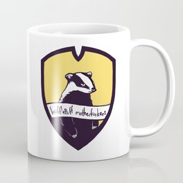 Hufflepuff Motherfuckers! Coffee Mug