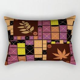 Patchwork. Autumn . Rectangular Pillow