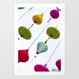 Lunar New Year Saigon Art Print