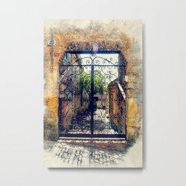 Erice art 10 Metal Print