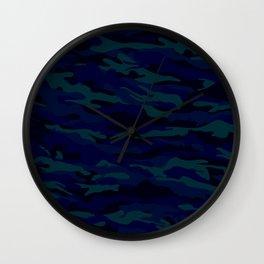 camuflaje 3 Wall Clock