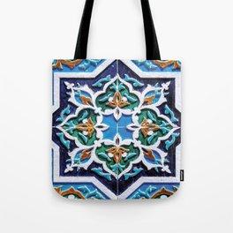 Iranian tiles Tote Bag