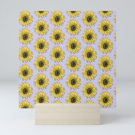 Sunflower Smiles Mini Art Print