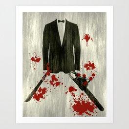 Smoking kills! Art Print
