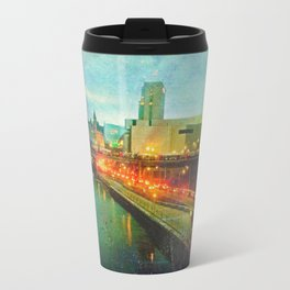 Where He Tarries Travel Mug