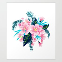 Floral Gift Art Print