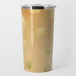 Golden Splotch Haze Travel Mug