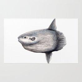 Ocean Sunfish (Mola mola) Rug