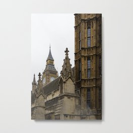 Parliament and Big Ben Metal Print