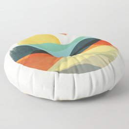 Let the world be your guide Floor Pillow