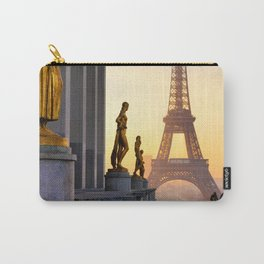 Sunrise in Paris France Carry-All Pouch