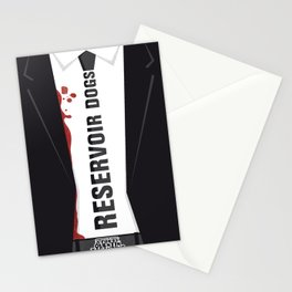 Reservoir Dogs Tribute Poster Stationery Cards