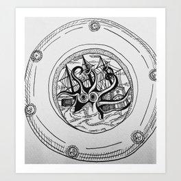 Porthole 3. Art Print