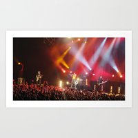 hayley williams Art Prints featuring Hayley Williams by Audrey's Photography