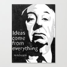 Ideas come from everything Canvas Print