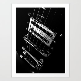 6 Strings Of Joy Art Print