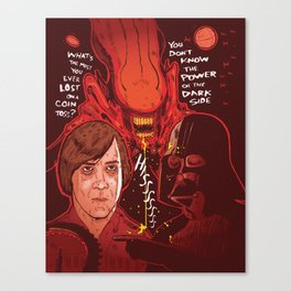 Movie Villians Canvas Print