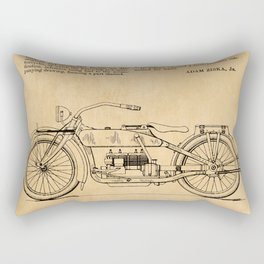 US Patent - Design for an early HD Motorcycle Rectangular Pillow