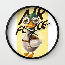 Corporal Duck Wall Clock