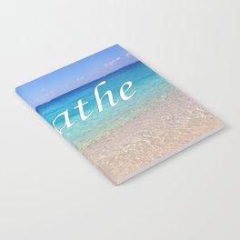 Breathe Cayman Relaxing Beach Waves Notebook