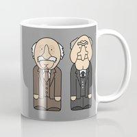 muppets Mugs featuring Statler & Waldorf – The Muppets by Big Purple Glasses