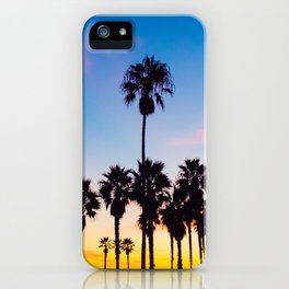 Venice Beach at Sunset iPhone Case