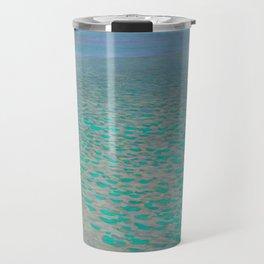 "Gustav Klimt ""Lake Attersee"" Travel Mug"