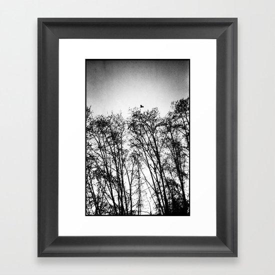 woods... Framed Art Print